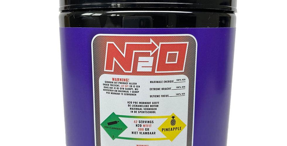 N2O Pre Workout - Pineapple