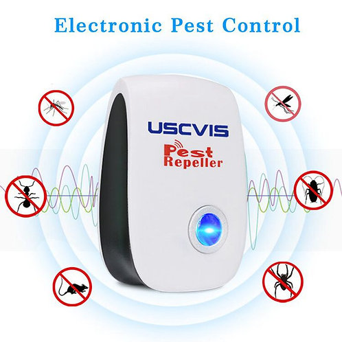Free Shipping Home Ultrasonic Pest Repeller Electronic Pest Control Pest