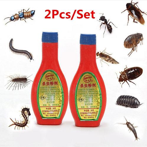 2Pcs/Set Powder Cockroach Bait Control Pest Killing All Kinds of Pests Baits