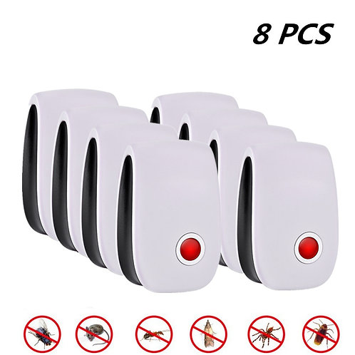 8pcs Pest Insect Control Ultrasonic Repeller Anti Mosquito Repellent Mouse