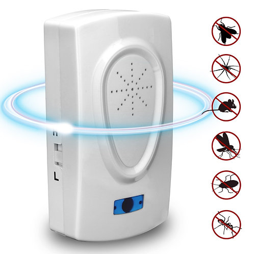 Ultrasonic Mouse Cockroach Pest Repeller Device Insect Rats Spiders Anti
