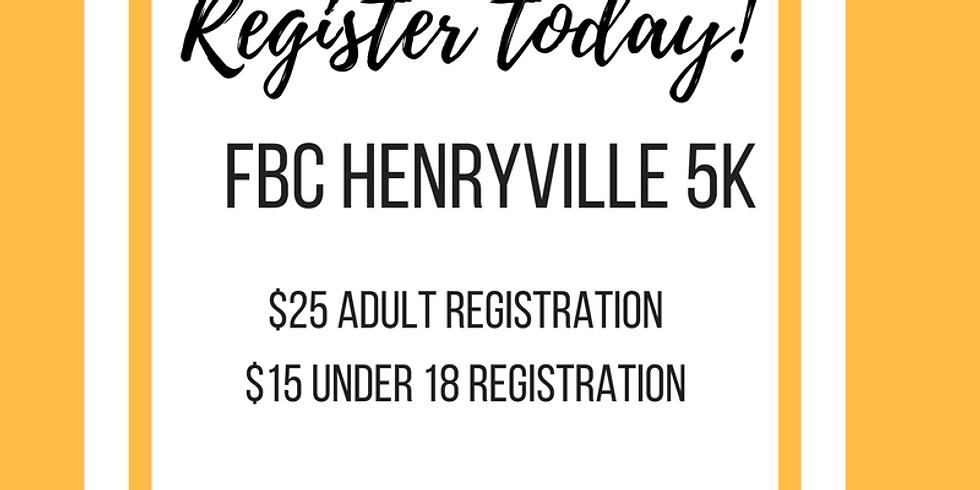 FBC Henryville 5k Race