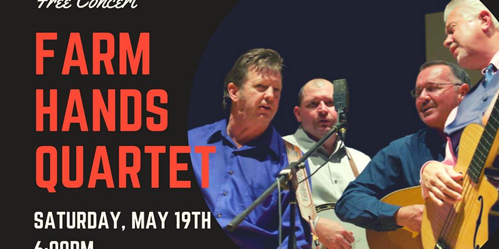 Farm Hands Quartet Concert