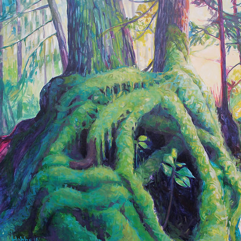 """Humble Moss"" Canvas Print- Small"
