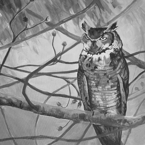 """""""The Seer"""" Original Painting"""
