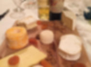 Wine & cheese tasting Myriam Tours Paris