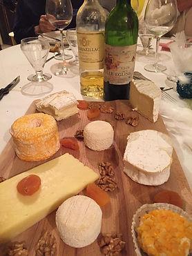 Wine & cheese tasting Myriam Tours Paris