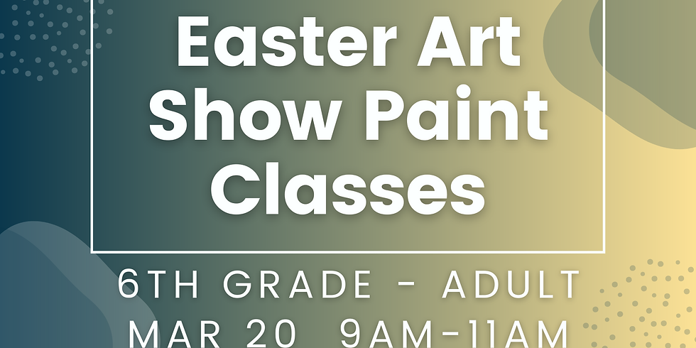 6th - Adult Paint Class
