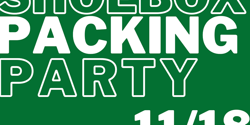 MS OCC Packing Party - 6pm