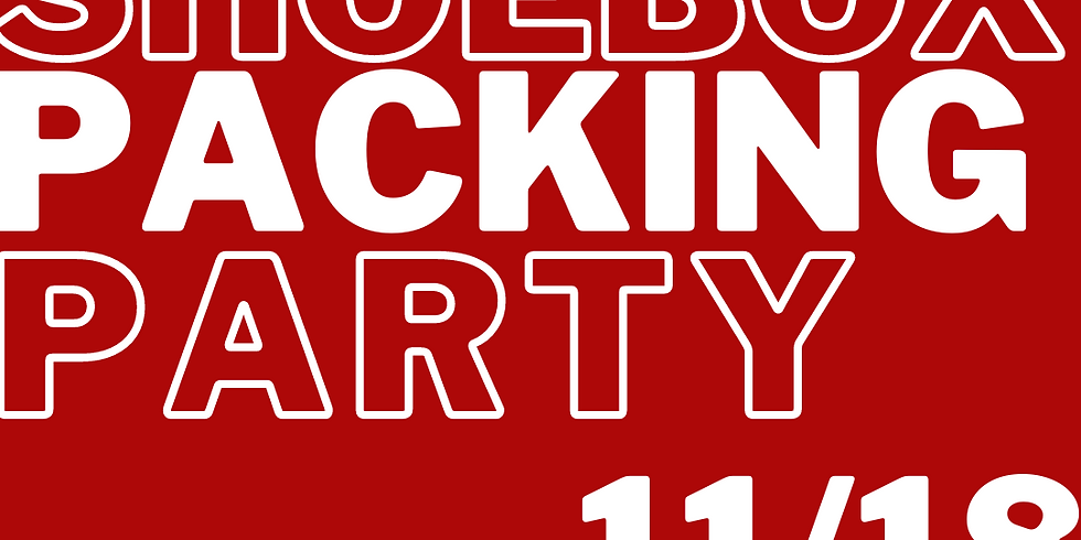 MS OCC Packing Party - 7:30pm