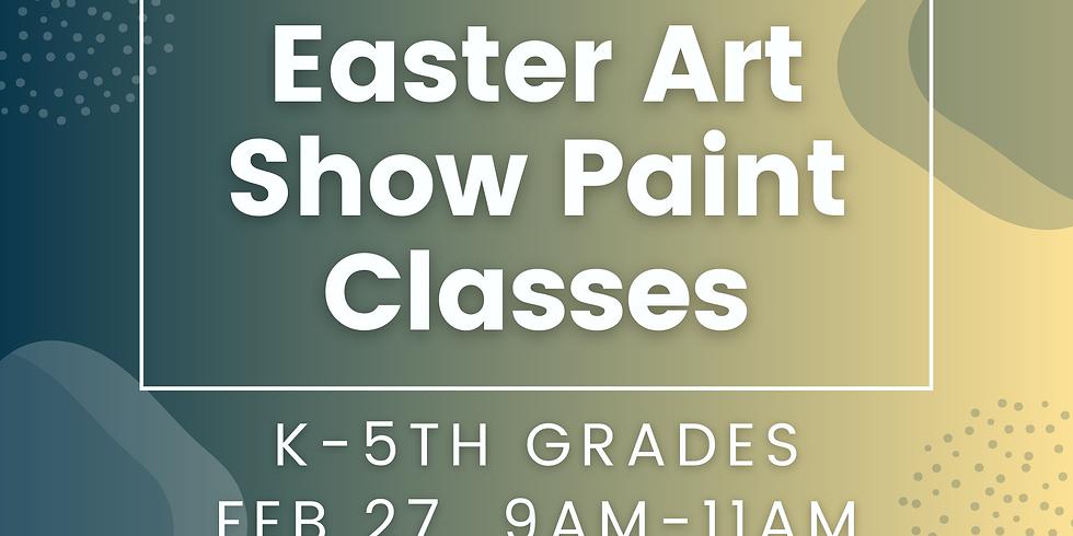 K-5th Paint Class