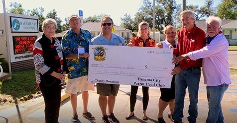 parrot head club donation.jfif