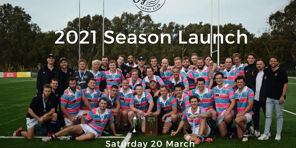 Sydney Harbour Rugby Club 2021 Season Launch