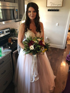 Bride hair and Makeup done by Kelsey Keeton