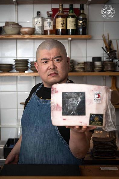 #Chef Taka Watanabe from Teru Sushi_Kita