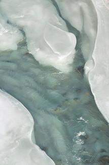 Gardner River, winter