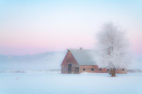 "Frozen Air, 12x18"" metal"