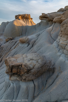 Eroded cliffs, Makoshika State Park