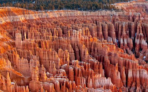 Silent City sunrise, Bryce Canyon