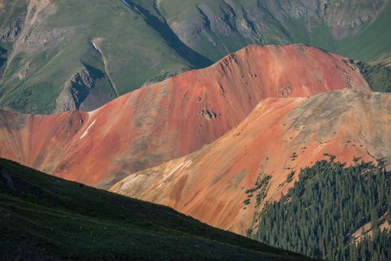 Red Mountains, Colorado