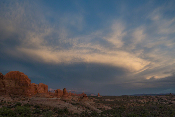 Storm over the Garden of Eden, Arches NP