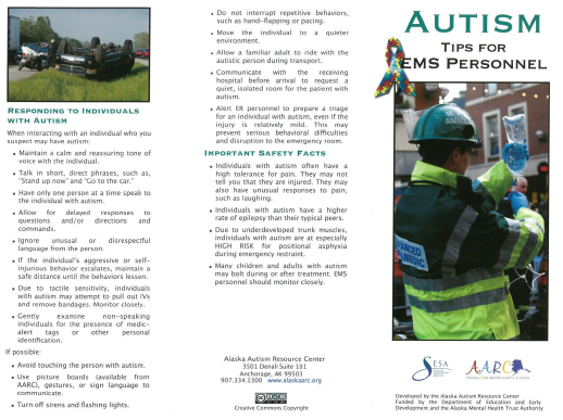 Autism Tips for EMS Personnel.