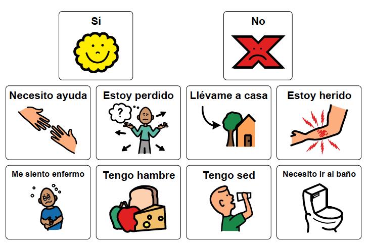 Spanish Communication Board