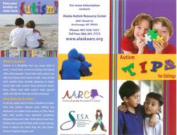 Autism Tips for Siblings Brochure.