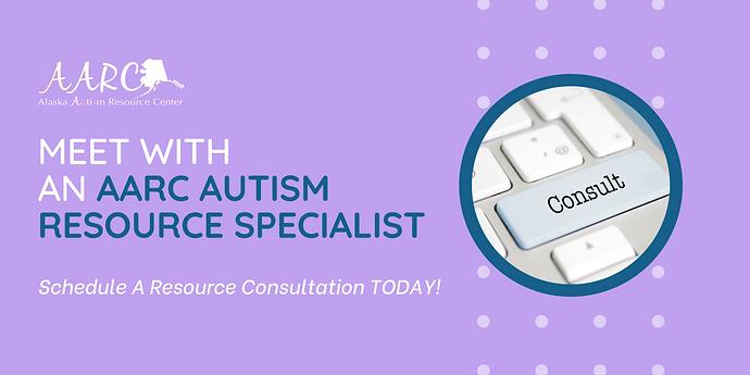 Speak with an Autism Resource specialist