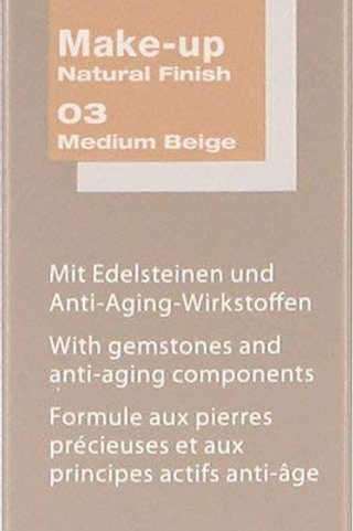 MAKE-UP NATURAL FINISH NO. 03, MEDIUM BEIGE