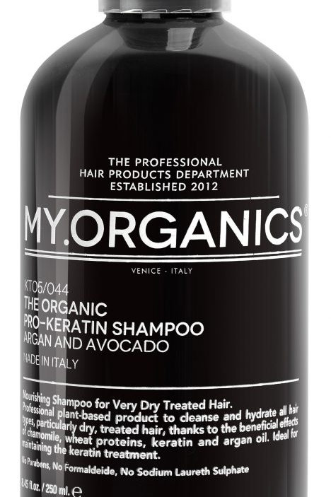 THE ORGANIC PRO-KERATIN SHAMPOO – ARGAN AND AVOCADO, 50 ml