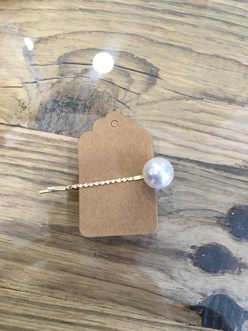 Haarspangerl mit Perle