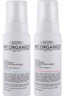 THE ORGANIC HYDRATING MOUSSE – YOGURT AND VANILLA, light, 250 ml