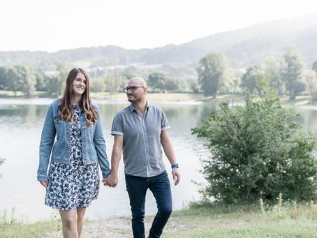 Verlobungsshooting am Pleschingersee