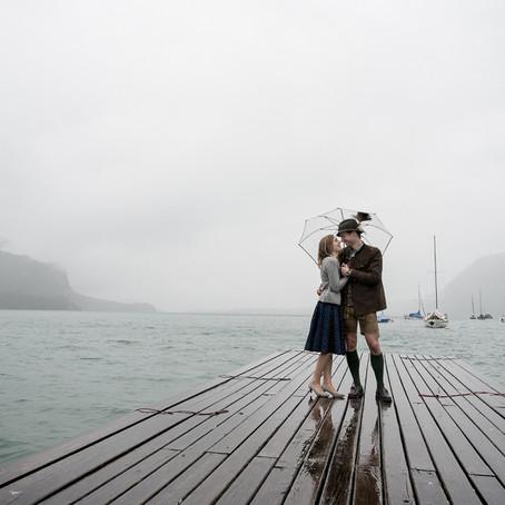 Verlobungsshooting bei herrlichem Regenwetter