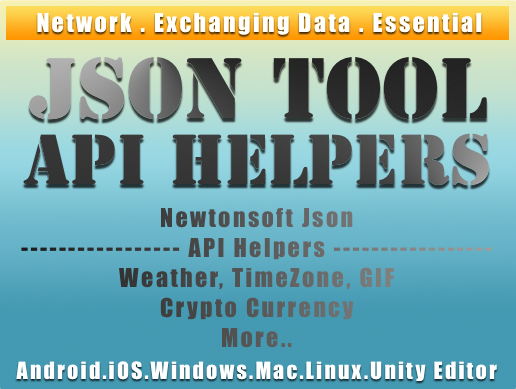 Json Tool And Api Helpers