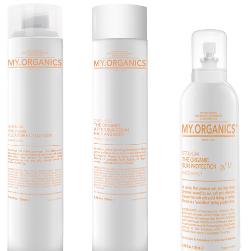 THE ORGANIC CLEANSER HAIR AND BODY, 250 ml