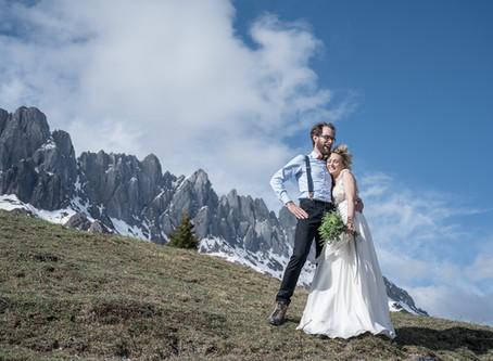 Heiraten in den Bergen - Shooting am Hochkönig