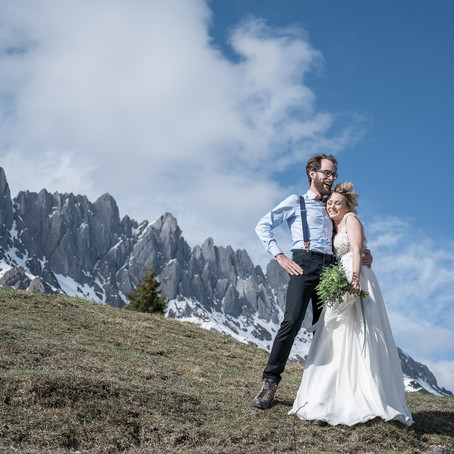 Heiraten in den Bergen - Shooting am Hochkönig