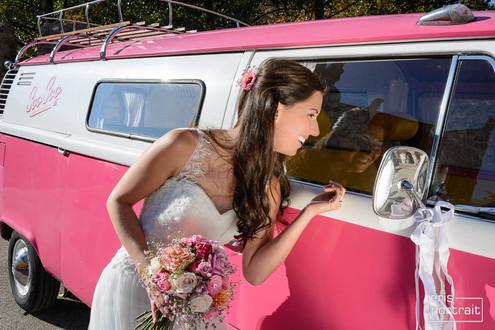 Hochzeitsfahrzeug