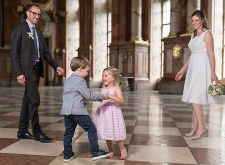 Hochzeit zu viert