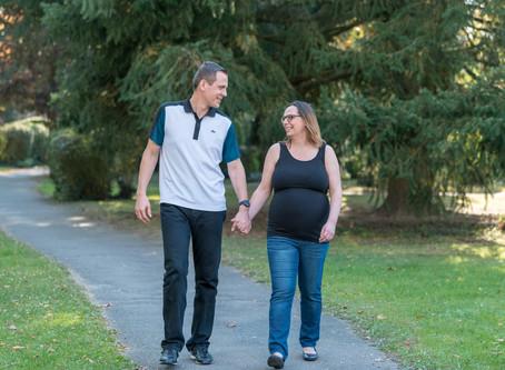 Babybauchshooting von Susanne und Gunar