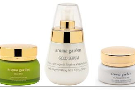 Beauty Box:Ultimate Gold Anti-Aging Program - selected Care