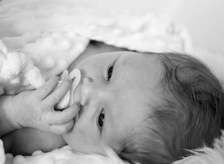 Newbornshooting mit der kleinen Ivana