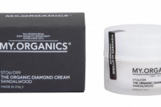 THE ORGANIC DIAMOND CREAM – SANDALWOOD, 50 g