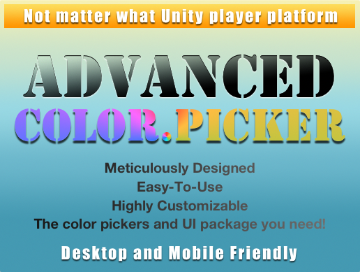 Advanced Color Picker