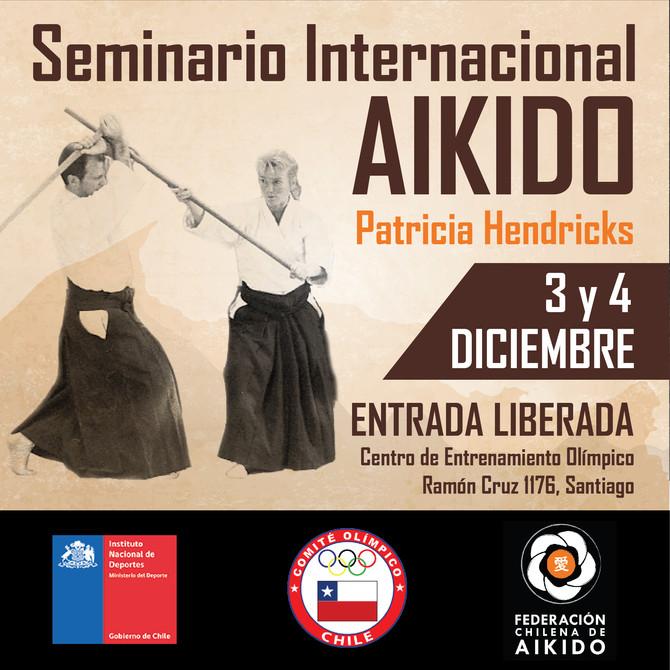 Seminario Internacional de Aikido con Patricia Hendricks Shihan