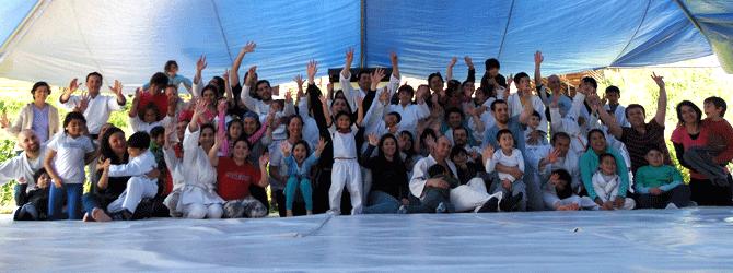 1er Encuentro de Aikido Nacional Infantil, jornada para padres e hijos