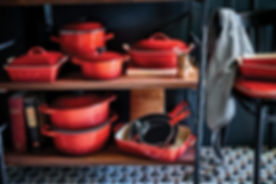 small saved red bistro pots and pans.jpg