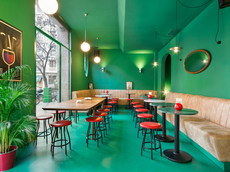 Bar Torpedo, reforma interior.